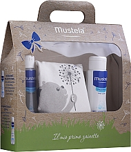 Parfémy, Parfumerie, kosmetika Sada - Mustela My First Backpack (b/gel/200ml + shm/200ml + bag)