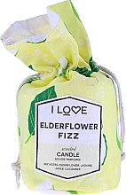 """Parfémy, Parfumerie, kosmetika Vonná svíčka """"Koktejl z buzíny"""" - I Love Elderflower Fizz Scented Candle"""