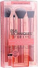 Parfémy, Parfumerie, kosmetika Sada make-up štětců - Real Techniques Flawless Base Set