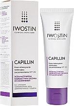Parfémy, Parfumerie, kosmetika Zpevňující noční krém na obličej - Iwostin Capillin Intensive Cream SPF 20