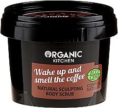 """Parfémy, Parfumerie, kosmetika Tělový peeling """"Probuď se a užij si vůni kávy"""" - Organic Shop Organic Kitchen Body Scrub"""
