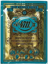 Parfémy, Parfumerie, kosmetika Maurer & Wirtz 4711 Original Eau de Cologne - Osvěžující ubrousky