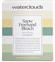 Parfémy, Parfumerie, kosmetika Odbarvovací pudr pro freehand aplikace - Waterclouds Snow Bleach Freehand