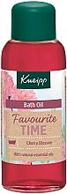 Parfémy, Parfumerie, kosmetika Olej do koupele Favourite Time - Kneipp Favourite Time Cherry Blossom Bath Oil