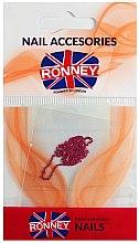Parfémy, Parfumerie, kosmetika Řetízek na zdobení nehtů, 00378, zlatavě růžový - Ronney Professional