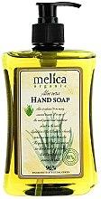 Parfémy, Parfumerie, kosmetika Tekuté mýdlo s extraktem z aloe - Melica Organic Aloe Vera Liquid Soap
