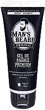 Parfémy, Parfumerie, kosmetika Gel na holení - Man's Beard Gel De Rasage Premium (tuba)