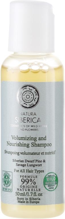 """Šampon pro všechny typy vlasů """"Objem a péče"""" - Natura Siberica — foto N1"""