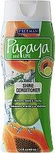Parfémy, Parfumerie, kosmetika Vlasový kondicionér pro lesk - Freeman Papaya and Lime Shine Conditioner