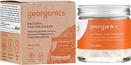 Parfémy, Parfumerie, kosmetika Přírodní zubní prášek - Georganics Red Mandarin Natural Toothpowder