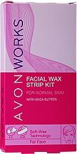 Parfémy, Parfumerie, kosmetika Voskové pásky pro epilaci tváře - Avon Works For Face & Brown