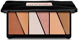 Parfémy, Parfumerie, kosmetika Paleta rozjasnovaču - Makeup Revolution Shook! Highlighter Palette