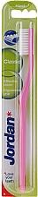Zubní kartáček tvrdý Classic, růžový - Jordan Classic Hard Toothbrush — foto N2