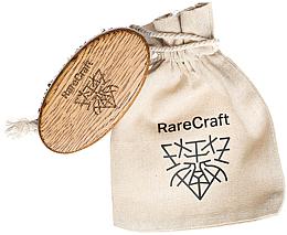 Parfémy, Parfumerie, kosmetika Kartáč na vousy z dubu, 11,5 x 6 cm - RareCraft