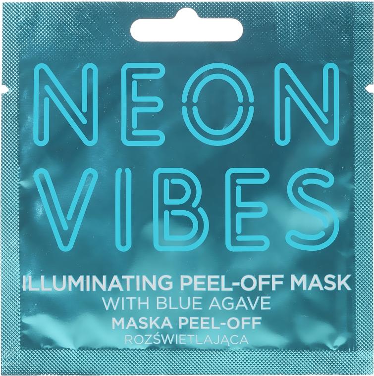 Maska na obličej - Marion Neon Vibes Illuminating Peel-Off Mask