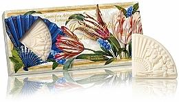 Parfémy, Parfumerie, kosmetika Sada přírodního mýdla Kytice - Saponificio Artigianale Fiorentino Floral Bouquet Soap (3xsoap/100g)