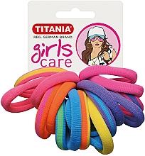 Parfémy, Parfumerie, kosmetika Gumičky do vlasů, 16 ks, různobarevné - Titania Girls Care