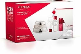 Parfémy, Parfumerie, kosmetika Sada - Shiseido Bio-Performance Time Fighting Ritual (cr/50ml + conc/10ml + foam/15ml + softner/30ml + conc/3ml + bag)