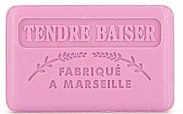 Parfémy, Parfumerie, kosmetika Marseille mýdlo Něžný polibek - Foufour Savonnette Marseillaise Tendre Baiser