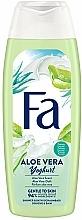 """Parfémy, Parfumerie, kosmetika Sprchový gel """"Yoghurt''. Aloe Vera"""" - Fa"""