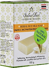 Parfémy, Parfumerie, kosmetika Mýdlo s extraktem z rýžových otrúb - Sabai Thai Herbal Rice Milk Soap