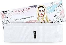 Parfémy, Parfumerie, kosmetika Čelenka na vlasy, bílá, Be Beauty - MakeUp