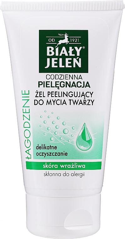 Exfoliační pleťový gel - Bialy Jelen Gel Exfoliating Facial Cleanser — foto N1