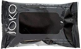 Parfémy, Parfumerie, kosmetika Micelární ubrousky na obličej s aktivním uhlím - Joko Micellar