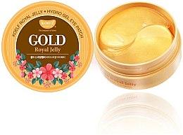 Parfémy, Parfumerie, kosmetika Hydrogelové náplasti pod oči se zlatem a mateří kašičkou - Petitfee & Koelf Gold & Royal Jelly Eye Patch