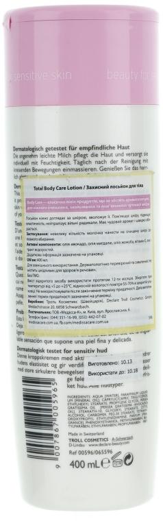 Ochranné tělové mléko - Declare Total Body Care Lotion — foto N2