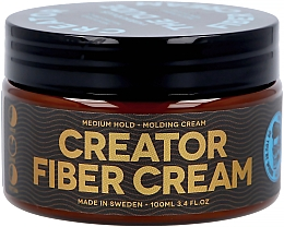 Parfémy, Parfumerie, kosmetika Krém-vosk na vlasy se střední fixací - Waterclouds The Dude Creator Fiber Cream Medium Hold