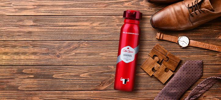 Získej deodorant jako dárek k nákupu produktů Old Spice v hodnotě nad 225 Kč