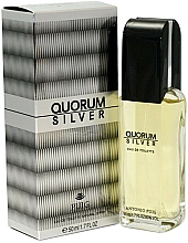 Antonio Puig Quorum Silver - Toaletní voda — foto N3