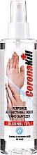 Parfémy, Parfumerie, kosmetika Antibakteriální tekutý přípravek pro dezinfekci rukou, ve spreji - Lazell CoronaKill Hand Sanitizer