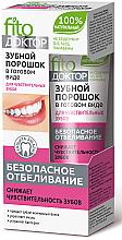 Parfémy, Parfumerie, kosmetika Zubní prášek v hotovém stavu pro citlivé zuby - Fito Kosmetik