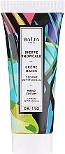Parfémy, Parfumerie, kosmetika Krém na ruce - Baija Sieste Tropicale Hand Cream