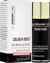Parfémy, Parfumerie, kosmetika Sérum od vrásek pro konturu očí - Arganicare Collagen Boost Anti Wrinkle Eye Serum