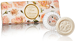 Parfémy, Parfumerie, kosmetika Sada mýdel Růže - Saponificio Artigianale Fiorentino Rose Blossom Soap