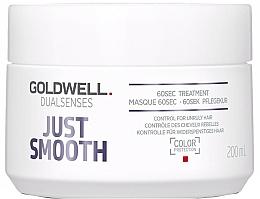 Parfémy, Parfumerie, kosmetika Intenzivní péče o nepoddajné vlasy - Goldwell Dualsenses Just Smooth 60sec Treatment
