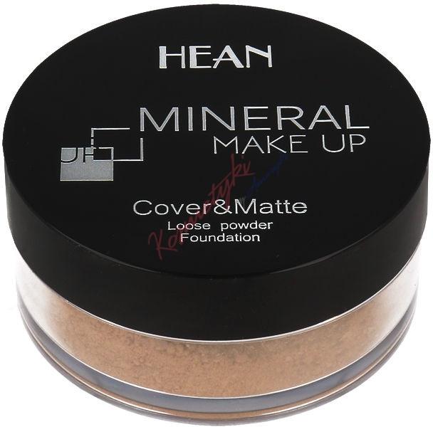 Minarální pudr na obličej - Hean Mineral Make Up Cover&Matte Loose Mineral Powder