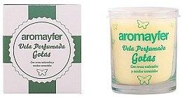 Parfémy, Parfumerie, kosmetika Vonná svíčka - Mayfer Perfumes Aromayfer Scented Candle