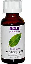 Parfémy, Parfumerie, kosmetika Esenciální olej Hruštička - Now Foods Essential Oils 100% Pure Wintergreen