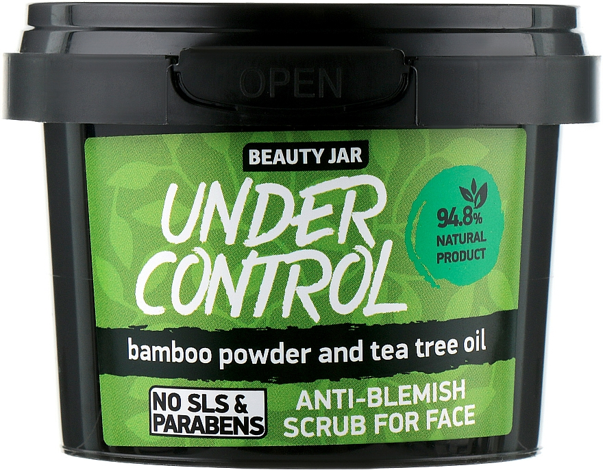 "Peeling na obličej ""Under Control"" - Beauty Jar Anti-Blemish Scrub For Face"