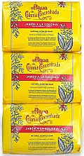 Parfémy, Parfumerie, kosmetika Alvarez Gomez Agua De Colonia Concentrada - Sada (soap/3x125g)