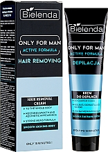 Parfémy, Parfumerie, kosmetika Krém na depilaci - Bielenda Only For Man Active Formula Cream