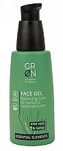 Parfémy, Parfumerie, kosmetika Pleťový gel - GRN Essential Elements Aloe Vera & Hemp Face Gel