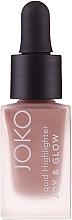 Parfémy, Parfumerie, kosmetika Tekutý rozjasňovač - Joko Joy & Glow Liquid Highlighter (tester)