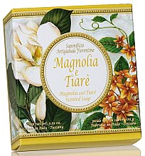 Parfémy, Parfumerie, kosmetika Prírodní mýdlo Magnolie a tiaré - Saponificio Artigianale Fiorentino Magnolia & Tiare Soap