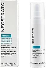Parfémy, Parfumerie, kosmetika Neutralizující sérum pro citlivou pleť - Neostrata Restore Reactive Skin Neutralizing Serum 6% PHA