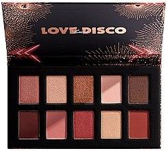 Parfémy, Parfumerie, kosmetika Paleta očních stínů - Nyx Love Lust Disco Shadow Palette